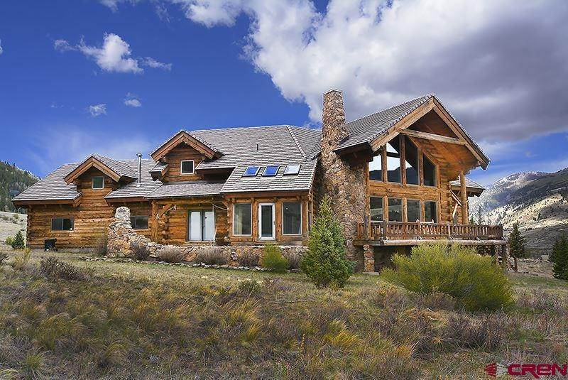 Single Family Homes for Sale at 1051 Middle Creek Road Creede, Colorado 81130 United States