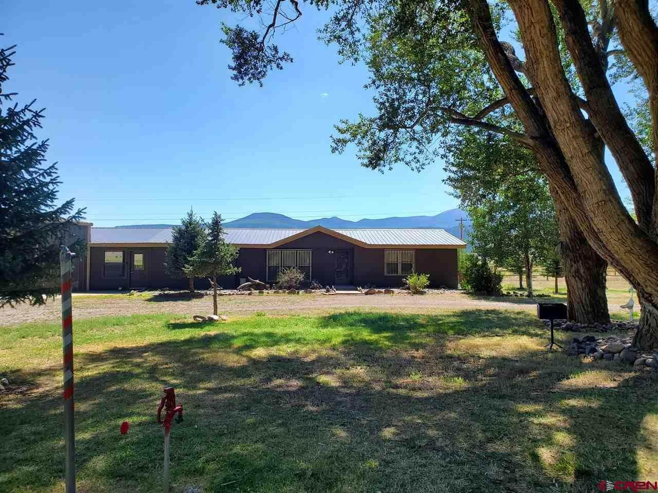 Single Family Homes for Sale at 720 county road 18 Del Norte, Colorado 81154 United States