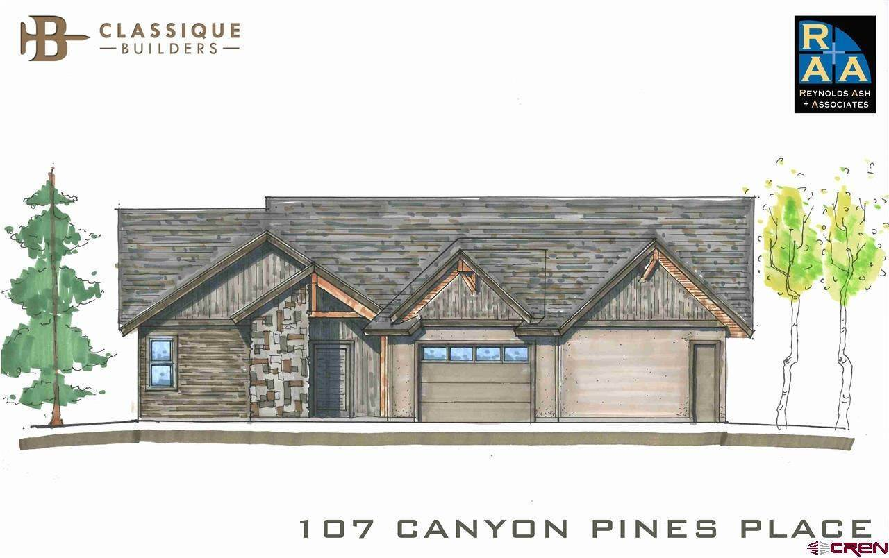 Single Family Homes at 107 Canyon Pines Place Durango, Colorado 81301 United States