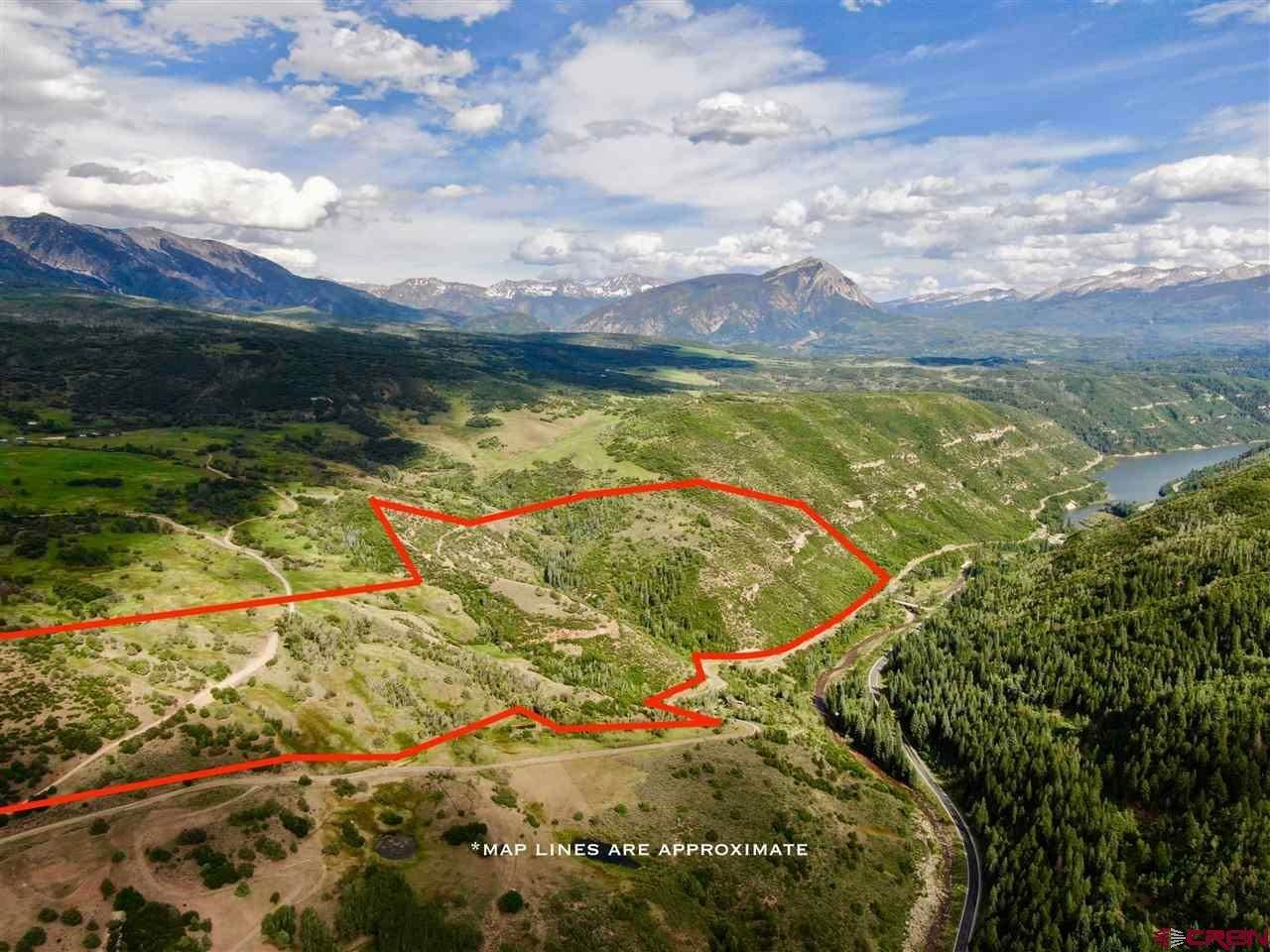 Mountain for Sale at TBD County Road 77 Somerset, Colorado 81434 United States