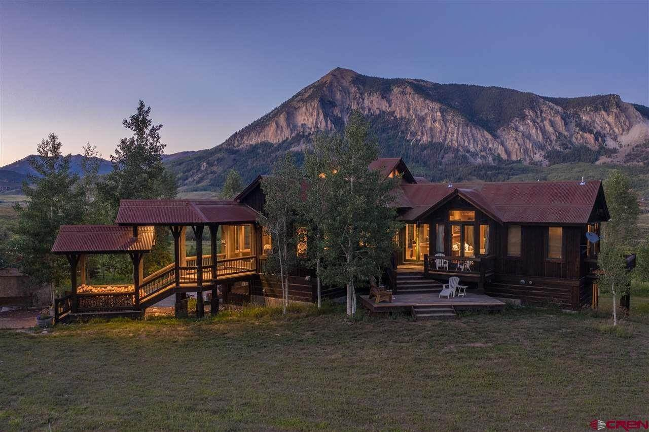 Single Family Homes for Sale at 379 Smith Road Crested Butte, Colorado 81224 United States