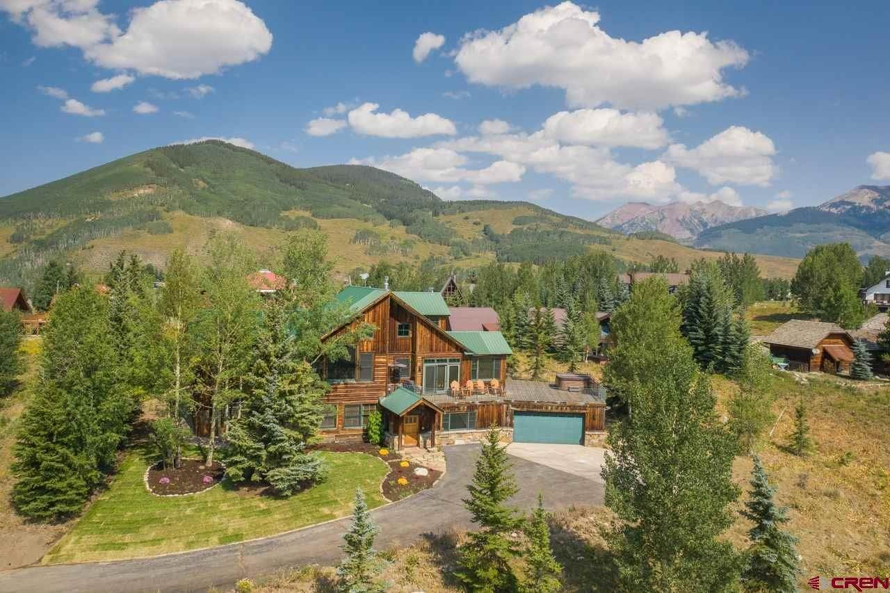 Single Family Homes for Sale at 20 Whetstone Road Mount Crested Butte, Colorado 81225 United States