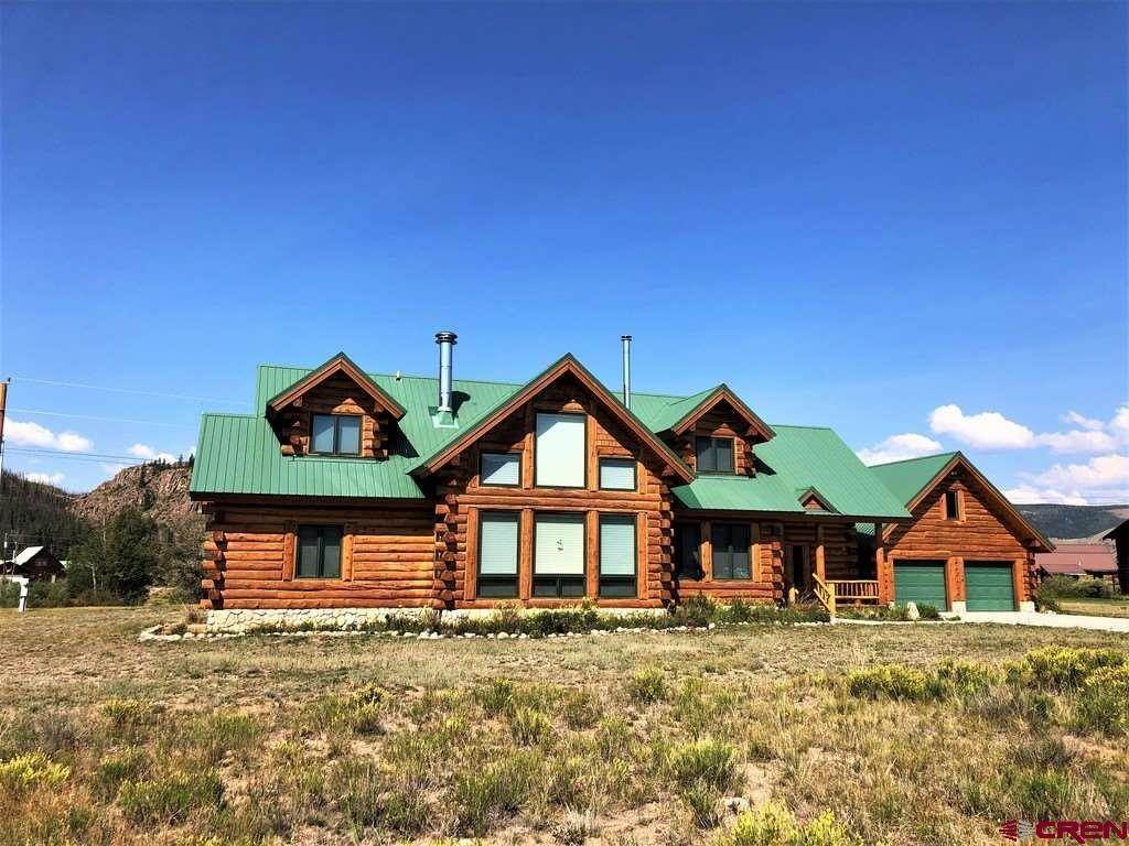 Single Family Homes for Sale at 156 Bristol Head Road Creede, Colorado 81130 United States
