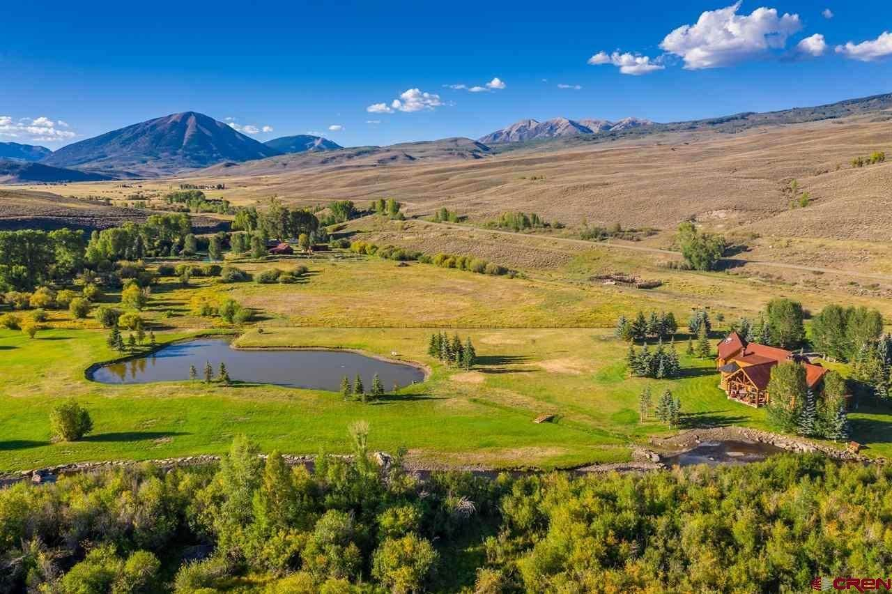 Single Family Homes for Sale at 8775 County Road 730 Gunnison, Colorado 81230 United States