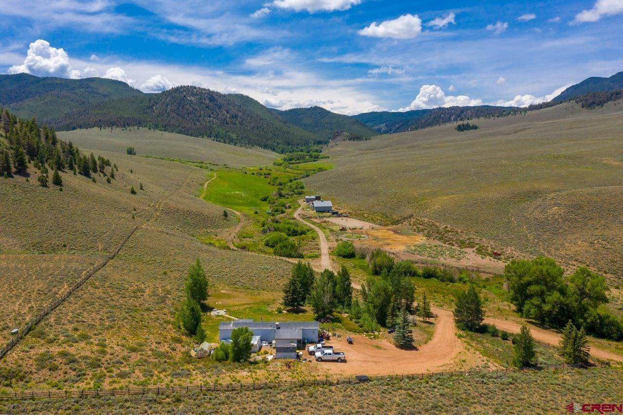 Farm and Ranch Properties for Sale at 633 County Road 24 UU Road Sargents, Colorado 81230 United States