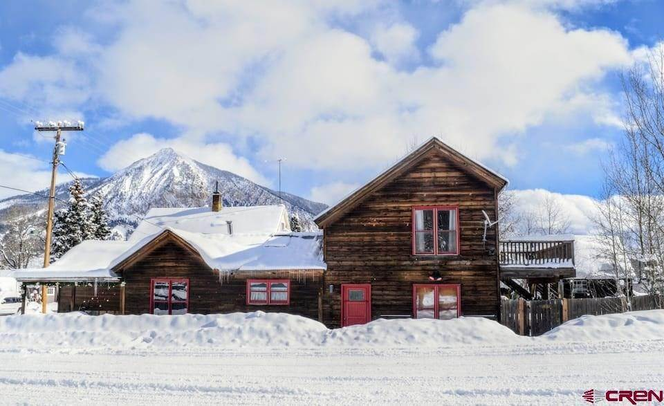 Single Family Homes for Sale at 302 Whiterock Avenue Crested Butte, Colorado 81224 United States