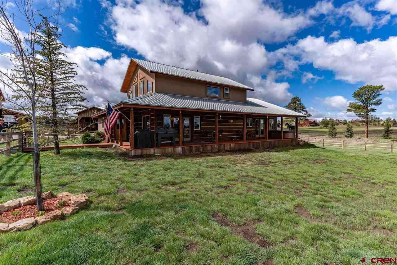 Single Family Homes for Sale at 32 Mill Run Court Pagosa Springs, Colorado 81147 United States