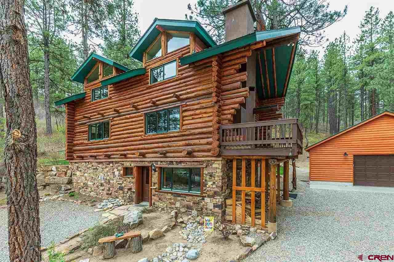 Single Family Homes for Sale at 266 Bear Creek Circle Bayfield, Colorado 81122 United States