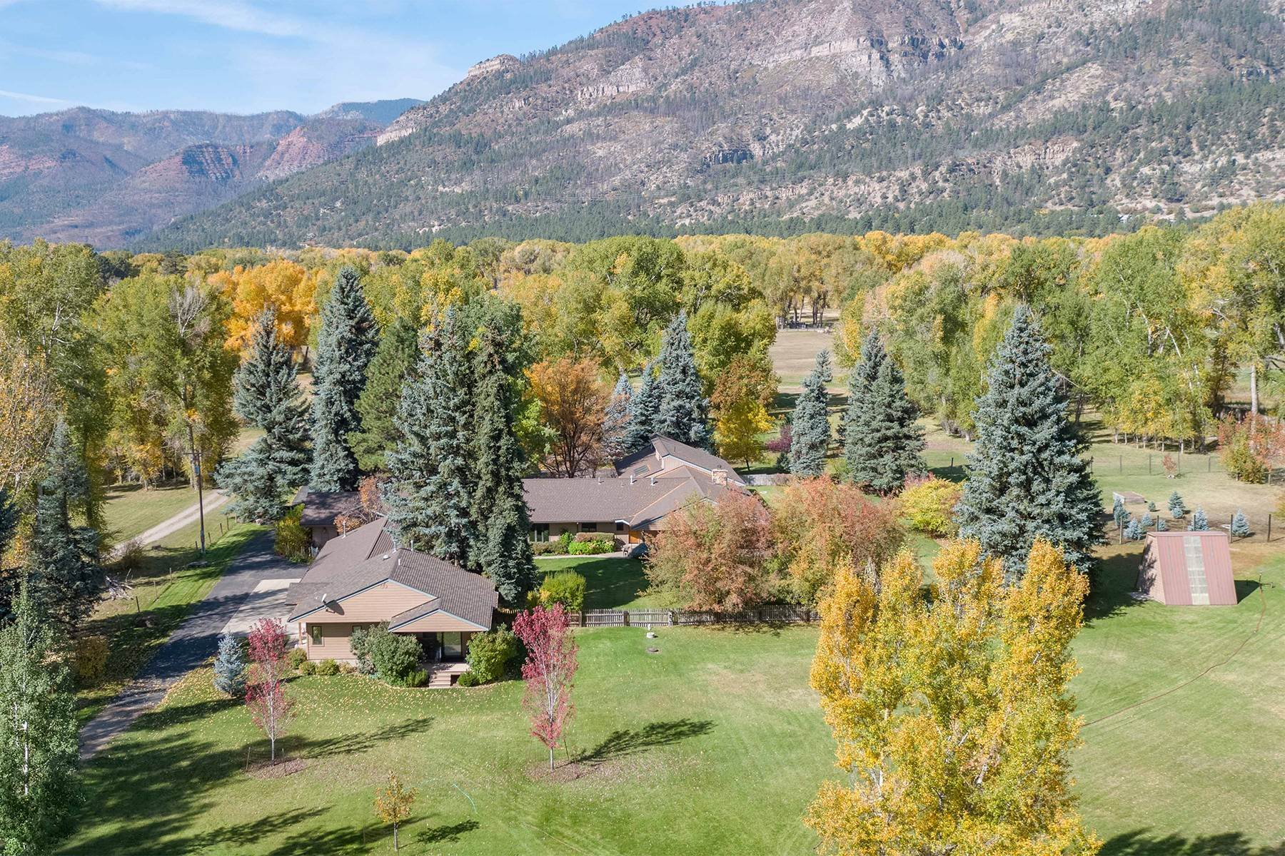 35. Single Family Homes for Sale at 10440 CR 250 Durango, Colorado 81301 United States