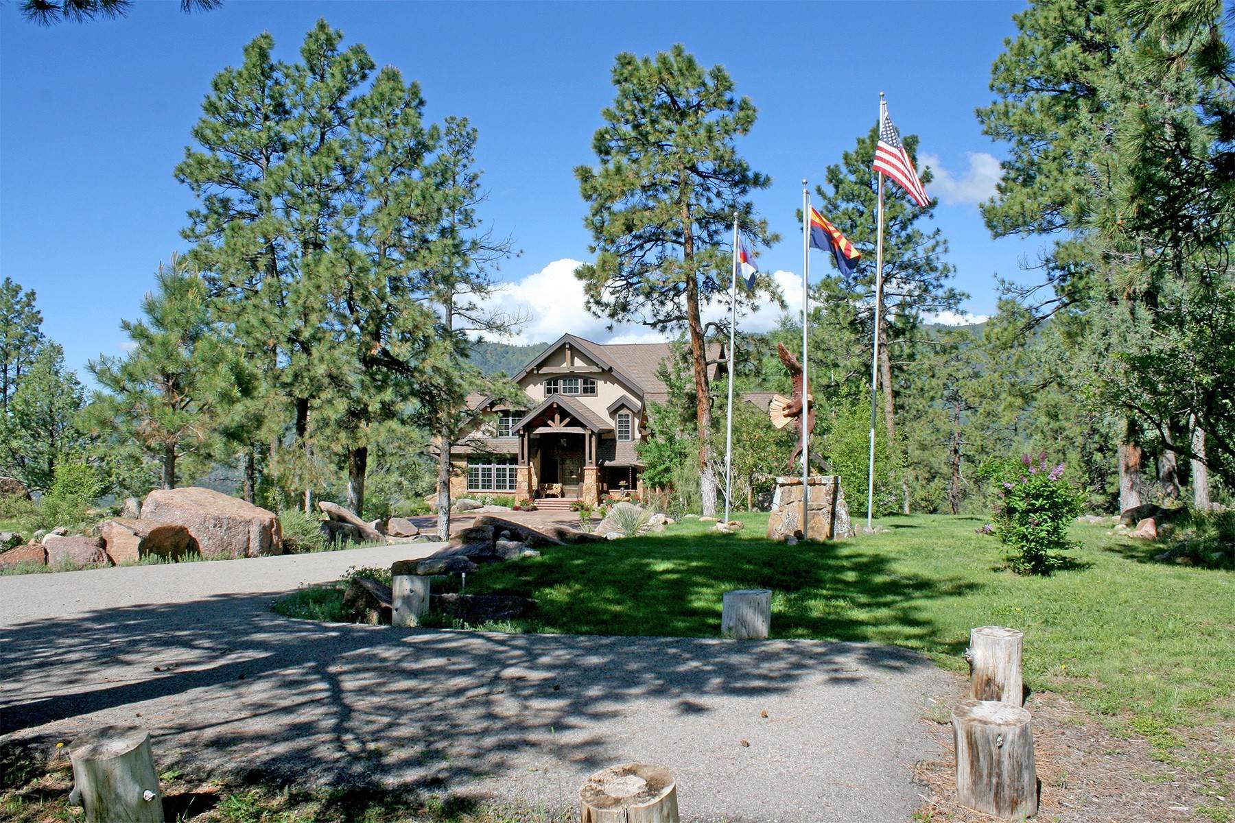 37. Single Family Homes for Sale at Granite Fall Lodge 1501 Celadon Drive East Durango, Colorado 81301 United States