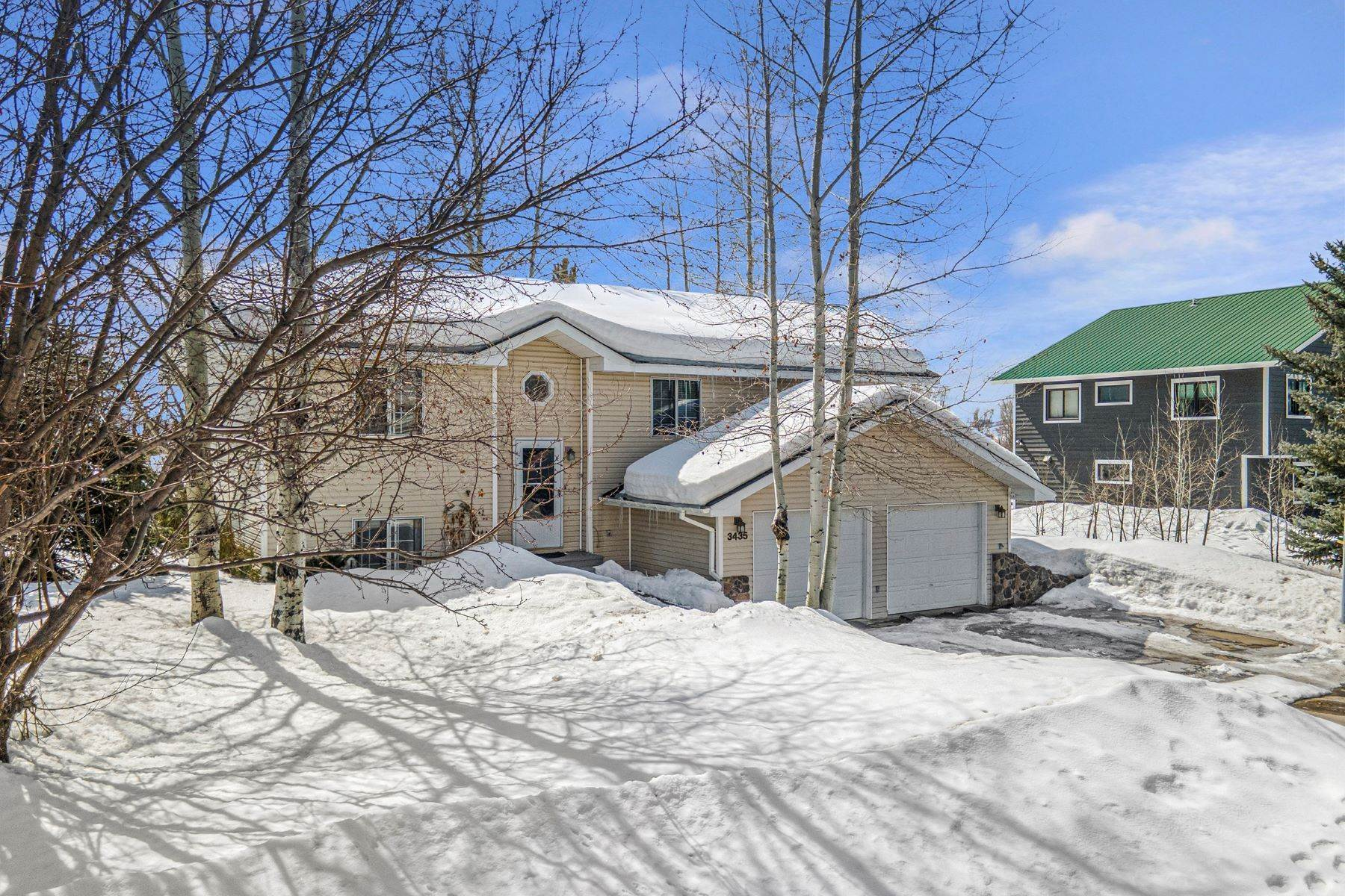Single Family Homes for Sale at Steamboat Home 3435 Hiawatha Court Steamboat Springs, Colorado 80487 United States