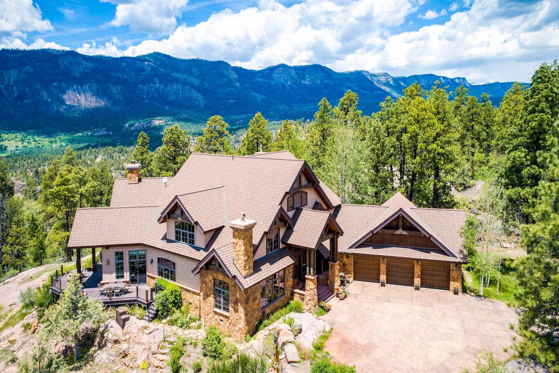 2. Single Family Homes for Sale at Granite Fall Lodge 1501 Celadon Drive East Durango, Colorado 81301 United States