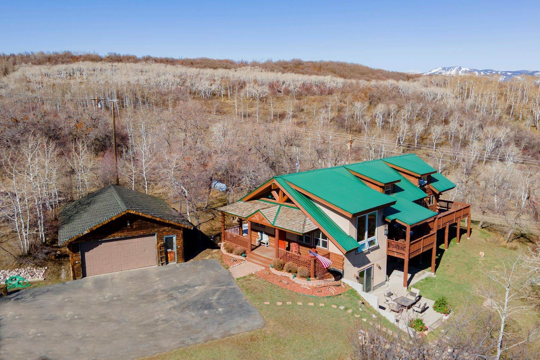 Single Family Homes for Sale at South Valley Home on Acreage 33020 County Road 41 Steamboat Springs, Colorado 80487 United States