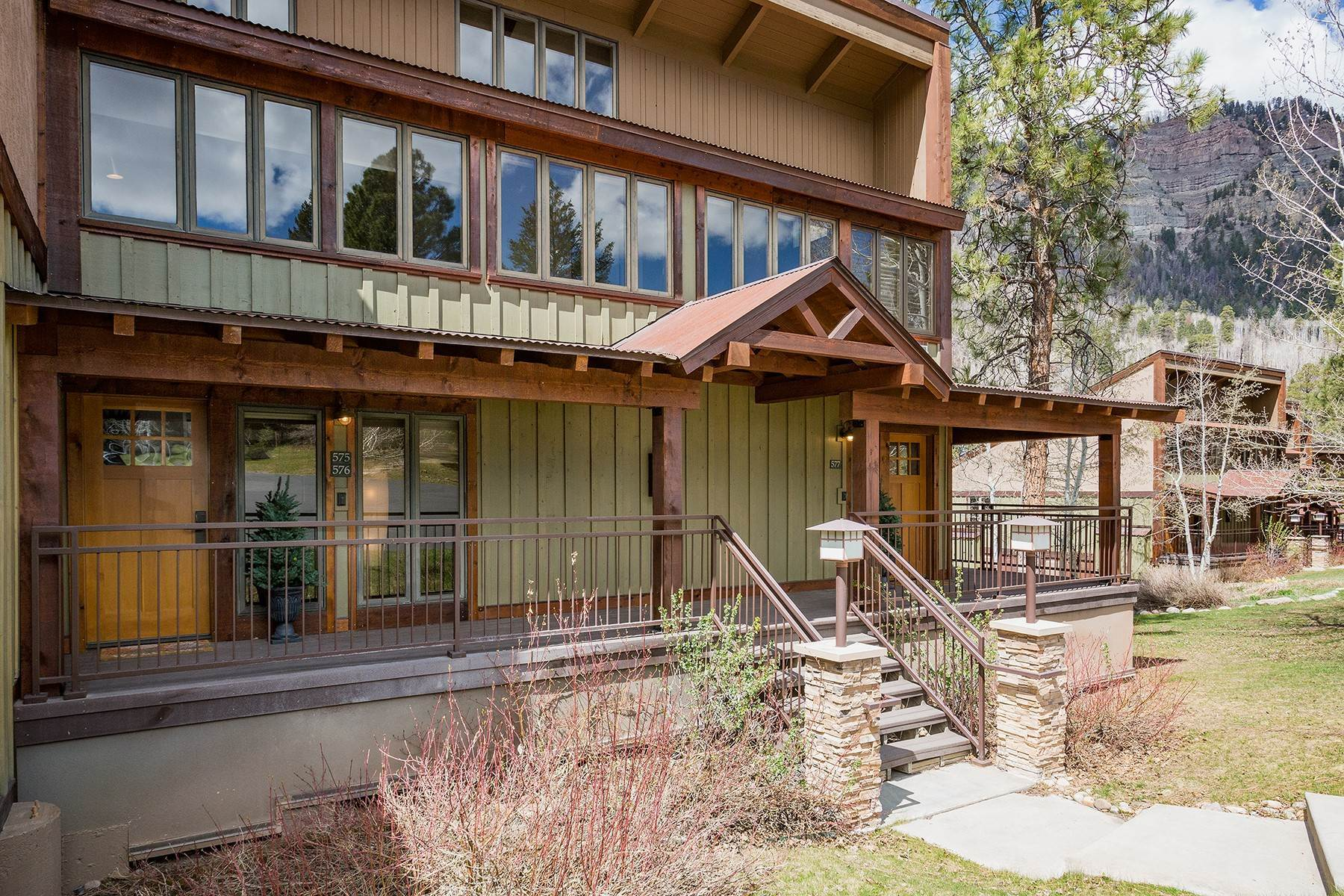 Condominiums for Sale at 961 N Tamarron Drive #575/577 Durango, Colorado 81301 United States