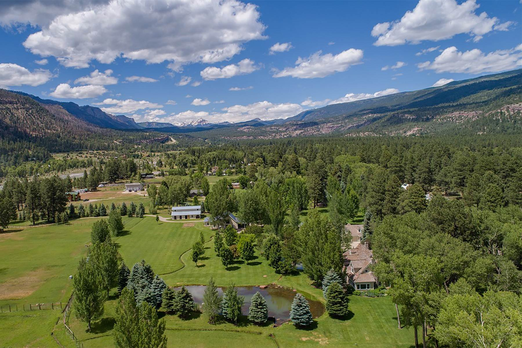 4. Single Family Homes for Sale at 10945 CR 250 Durango, Colorado 81301 United States