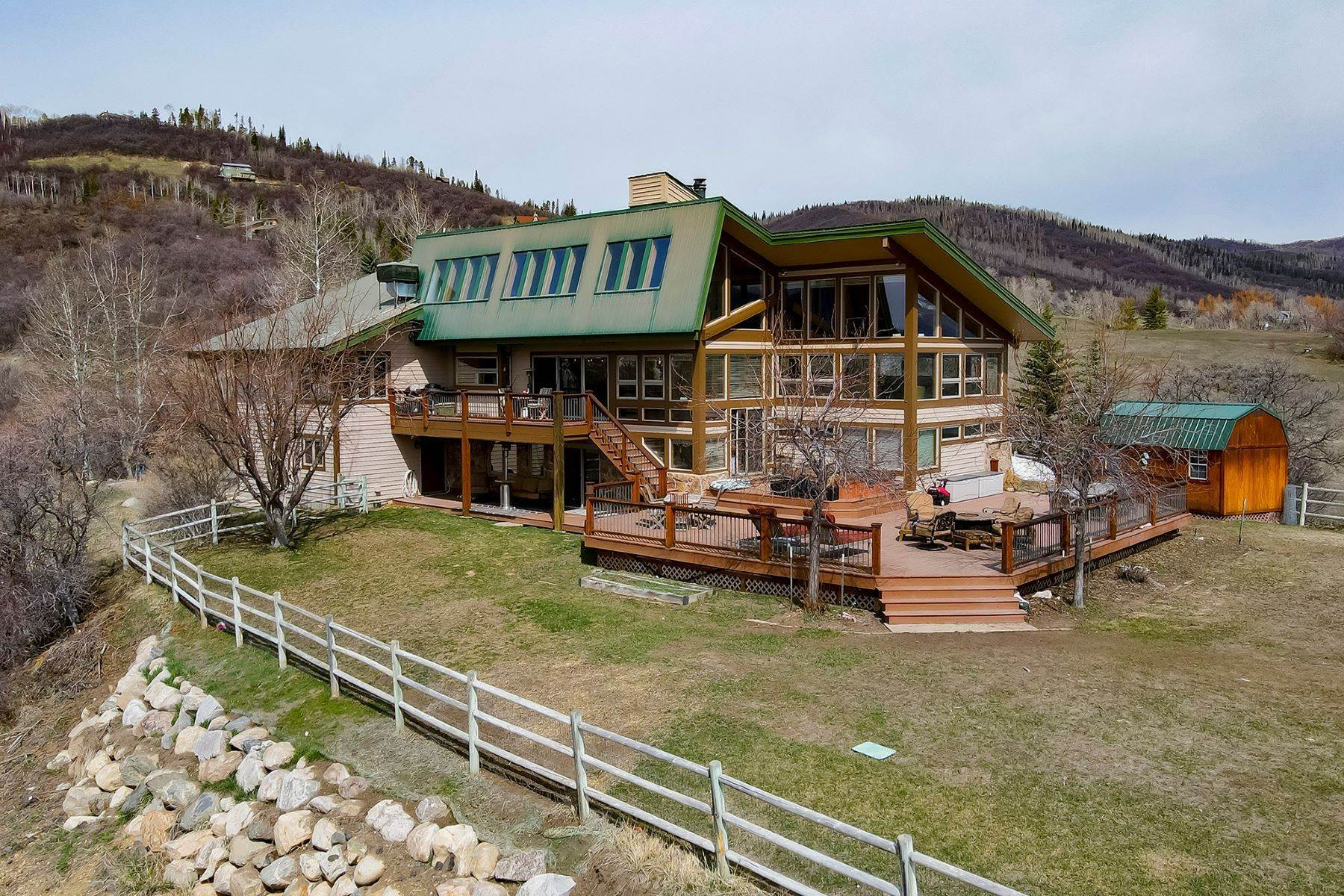 Single Family Homes for Sale at Country Green Home 34950 Country Green Road Steamboat Springs, Colorado 80487 United States
