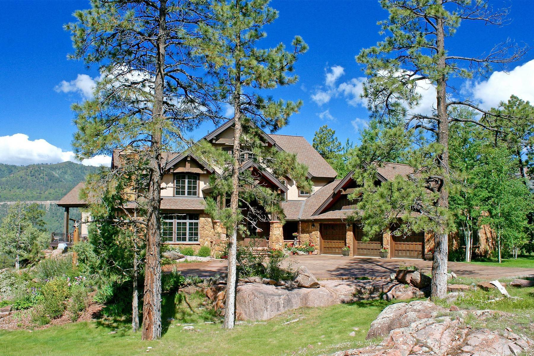 3. Single Family Homes for Sale at Granite Fall Lodge 1501 Celadon Drive East Durango, Colorado 81301 United States