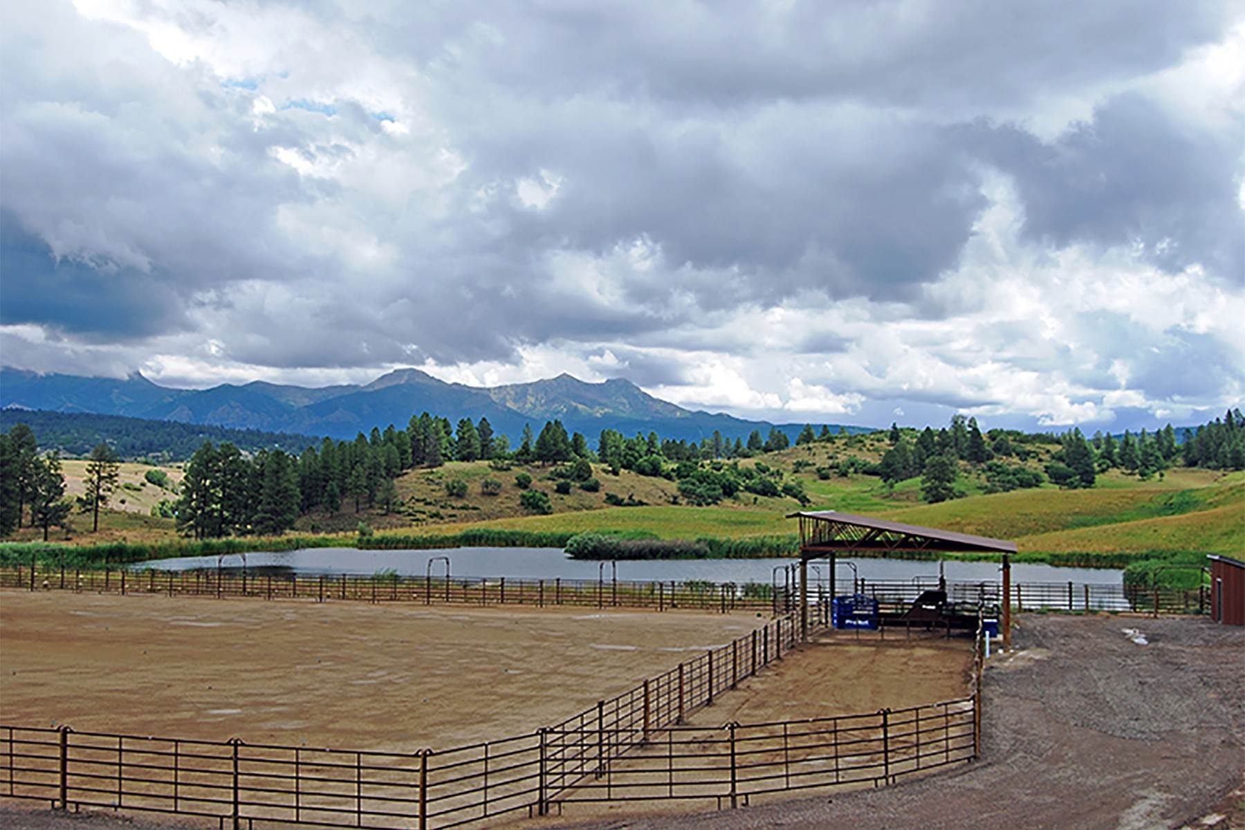 29. Single Family Homes for Sale at Cross Bell Ranch 2851 Cty Rd 382 Pagosa Springs, Colorado 81128 United States