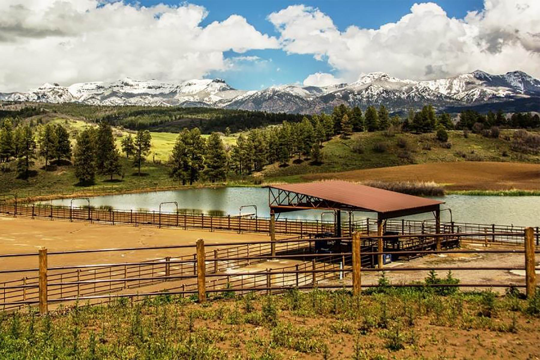 30. Single Family Homes for Sale at Cross Bell Ranch 2851 Cty Rd 382 Pagosa Springs, Colorado 81128 United States