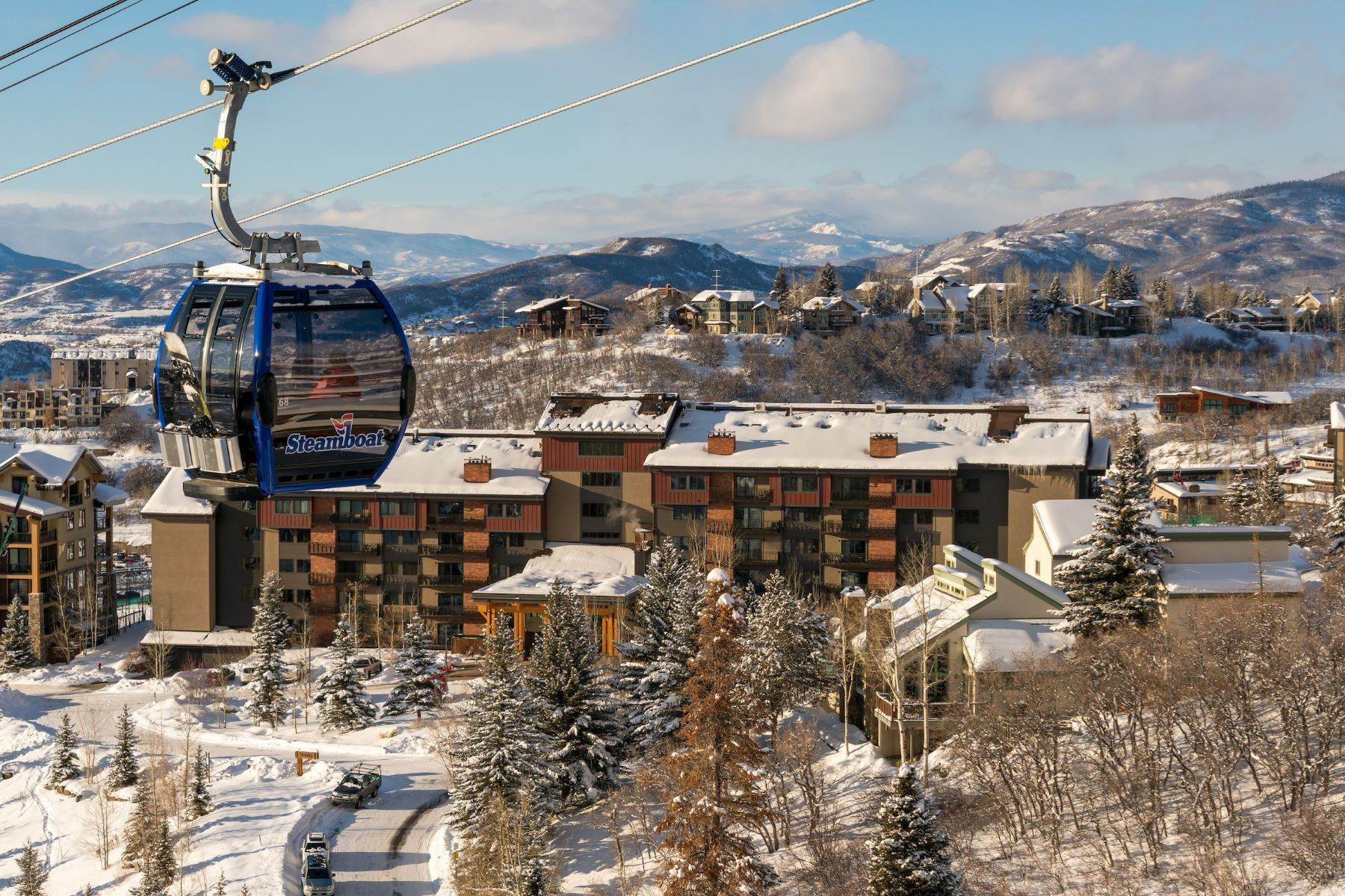 Single Family Homes for Sale at Ski-in/ski-out at Bear Claw 2420 Ski Trail Lane Unit #409 Steamboat Springs, Colorado 80487 United States