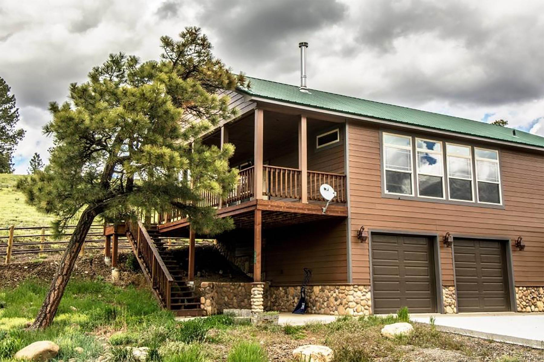 21. Single Family Homes for Sale at Cross Bell Ranch 2851 Cty Rd 382 Pagosa Springs, Colorado 81128 United States