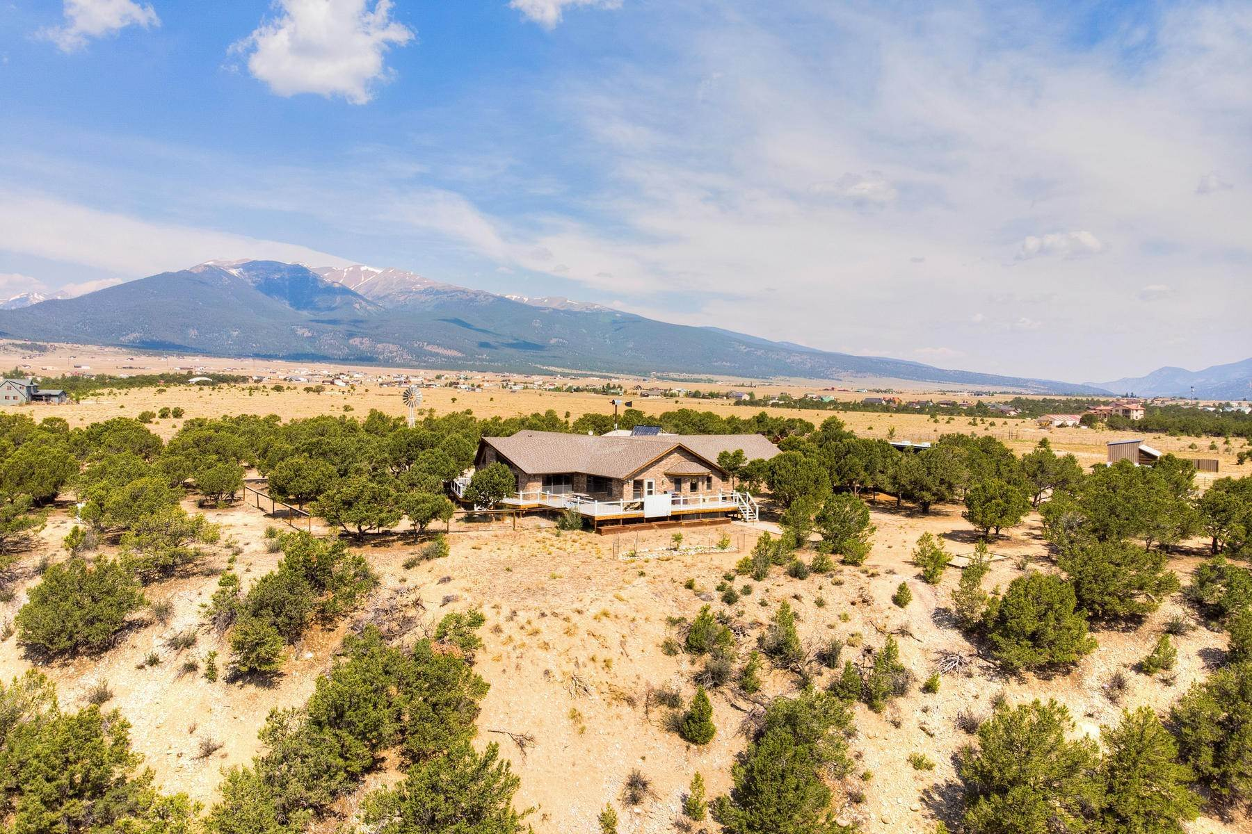 Single Family Homes for Sale at 36+ Acre Horse Property 13250 County Road 353 Buena Vista, Colorado 81211 United States