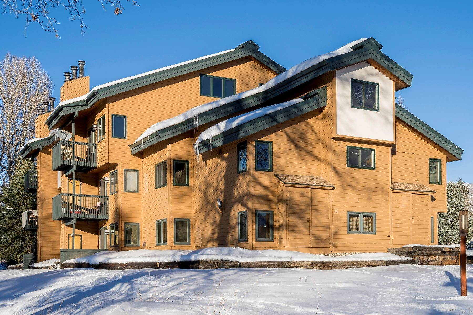 Condominiums for Sale at Ground floor unit at The Pines 540 Ore House Plaza Unit #101, Bldg A Steamboat Springs, Colorado 80487 United States