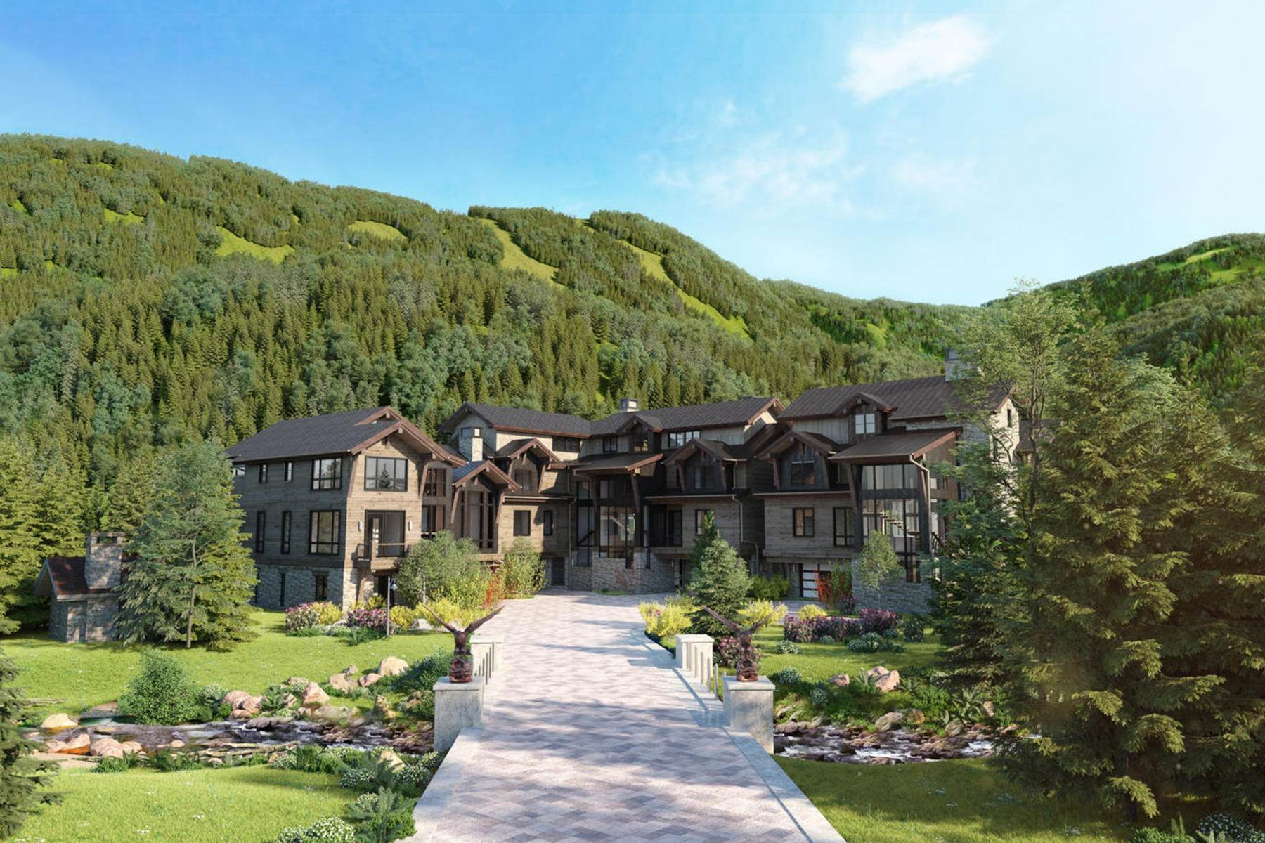 Duplex Homes for Sale at Peregrine Villas 189 Elk Track Road Beaver Creek, Colorado 81620 United States