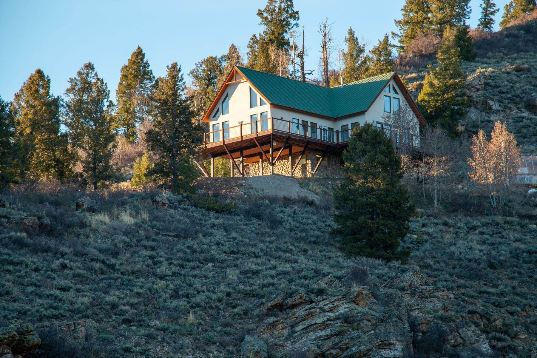 Single Family Homes for Sale at Four Bedroom Home on Elevated 35 Acre Lot with Stunning Views 10 Zeligman Street Crested Butte, Colorado 81224 United States