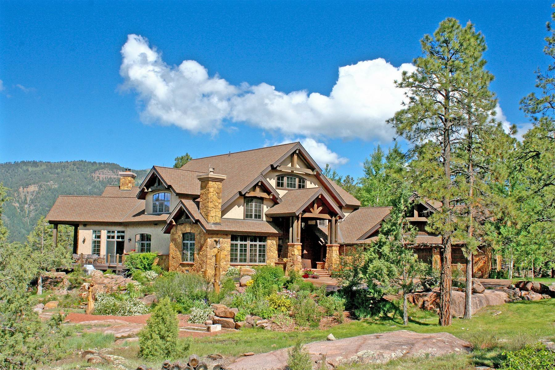 Single Family Homes for Sale at Granite Fall Lodge 1501 Celadon Drive East Durango, Colorado 81301 United States