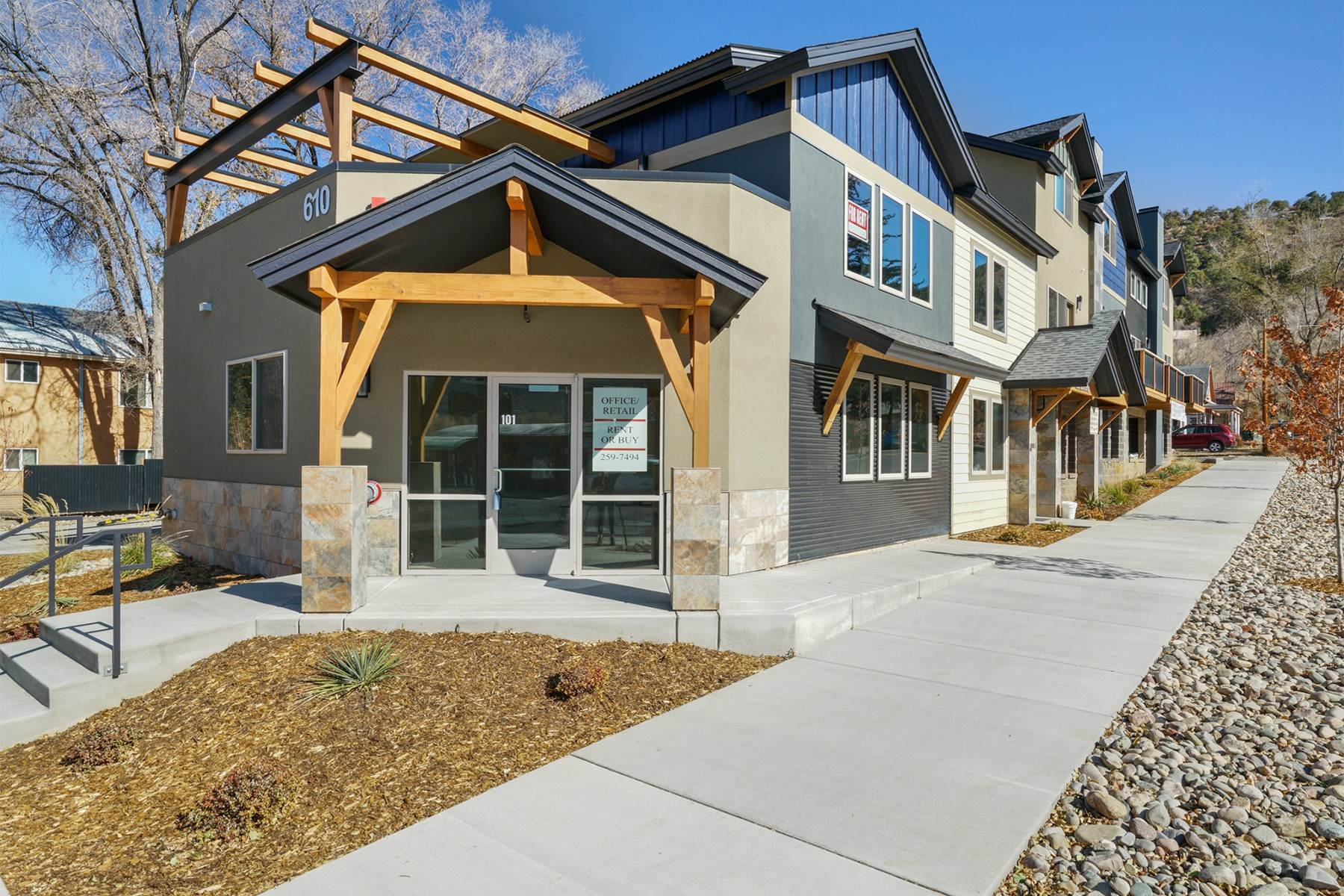 Commercial for Sale at 610 E 8th Avenue #202 Durango, Colorado 81301 United States