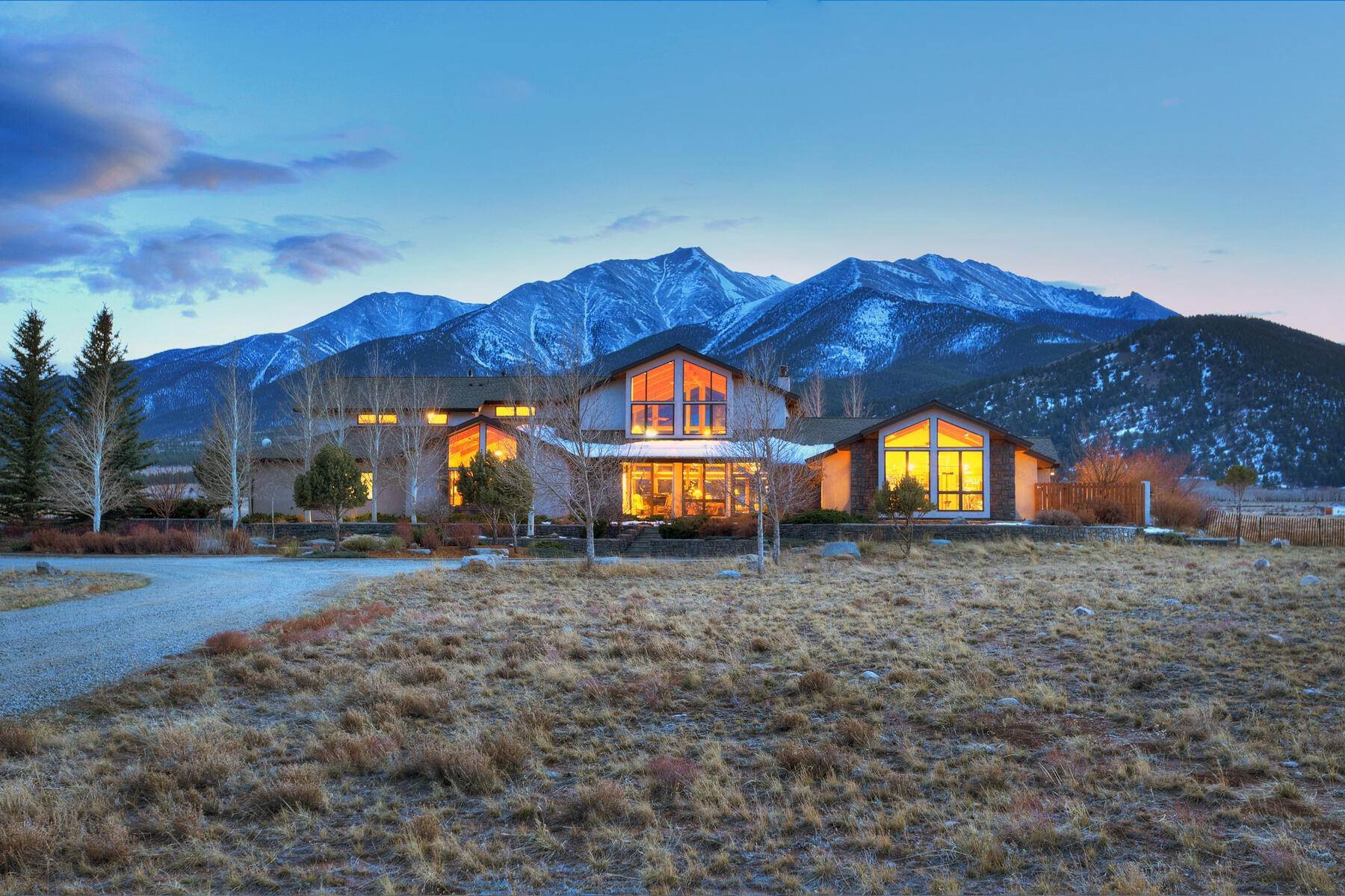Single Family Homes for Sale at Soaring Peaks Home 27484 County Road 339 Buena Vista, Colorado 81211 United States