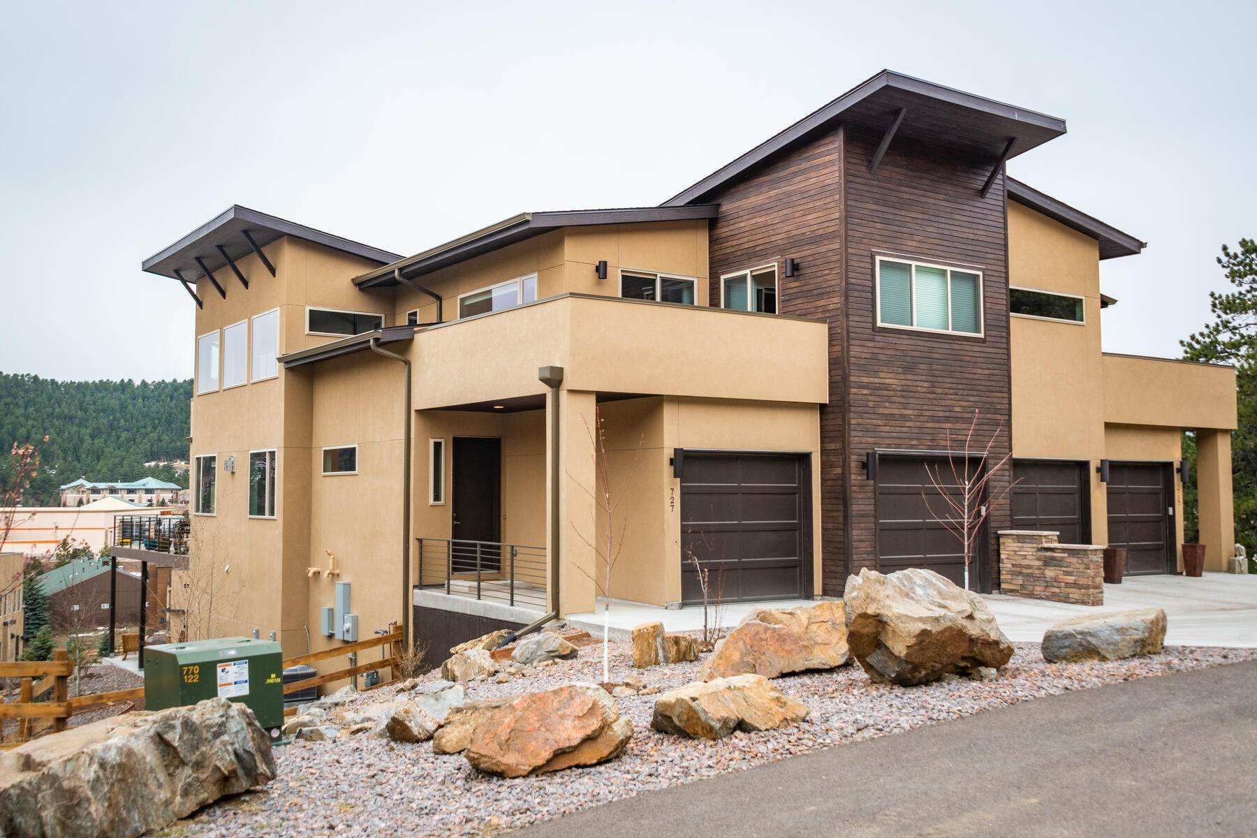 Duplex Homes for Sale at Exquisite & Carefully Curated With Extensive Upgrades 727 Dreamcatcher Lane Evergreen, Colorado 80439 United States
