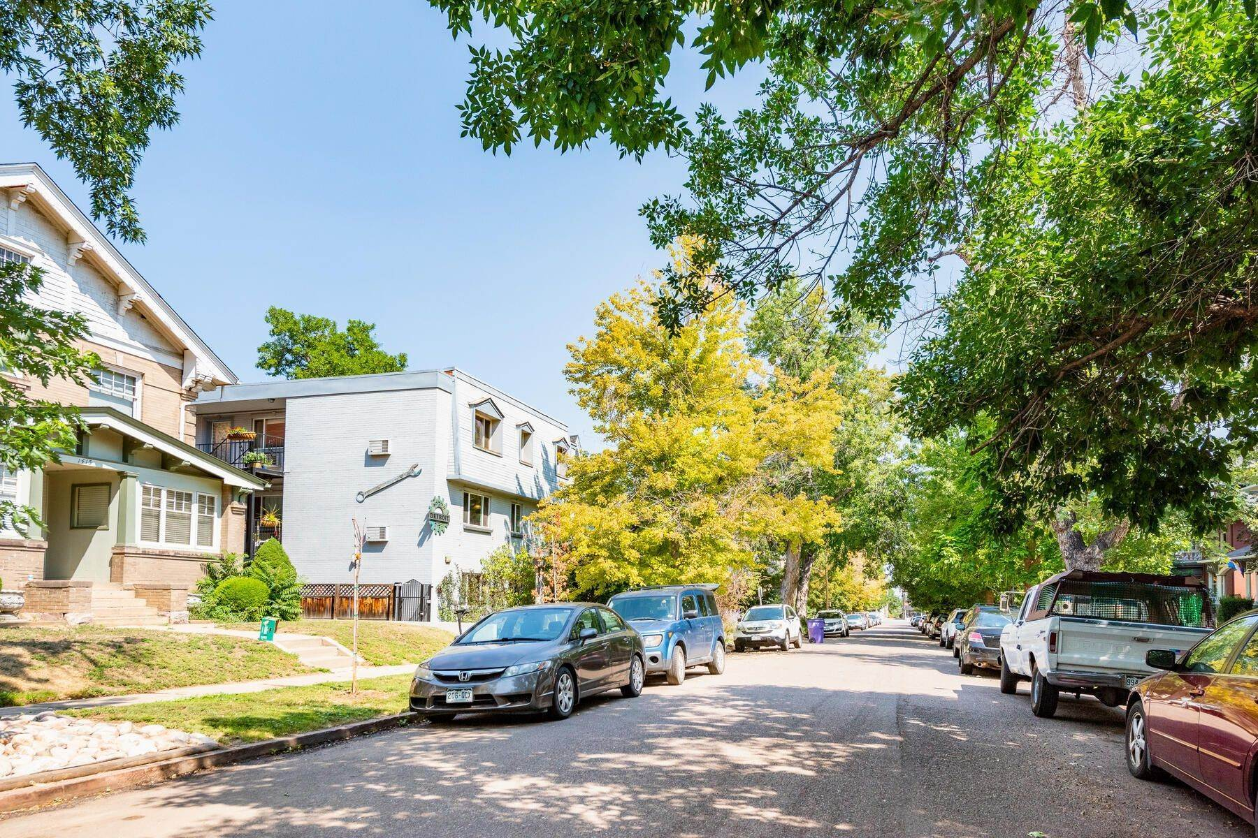 Condominiums for Sale at Wonderful Condo with Reserved Parking in the Heart of Historic Congress Park! 1419 Detroit Street, Unit# 20 Denver, Colorado 80206 United States