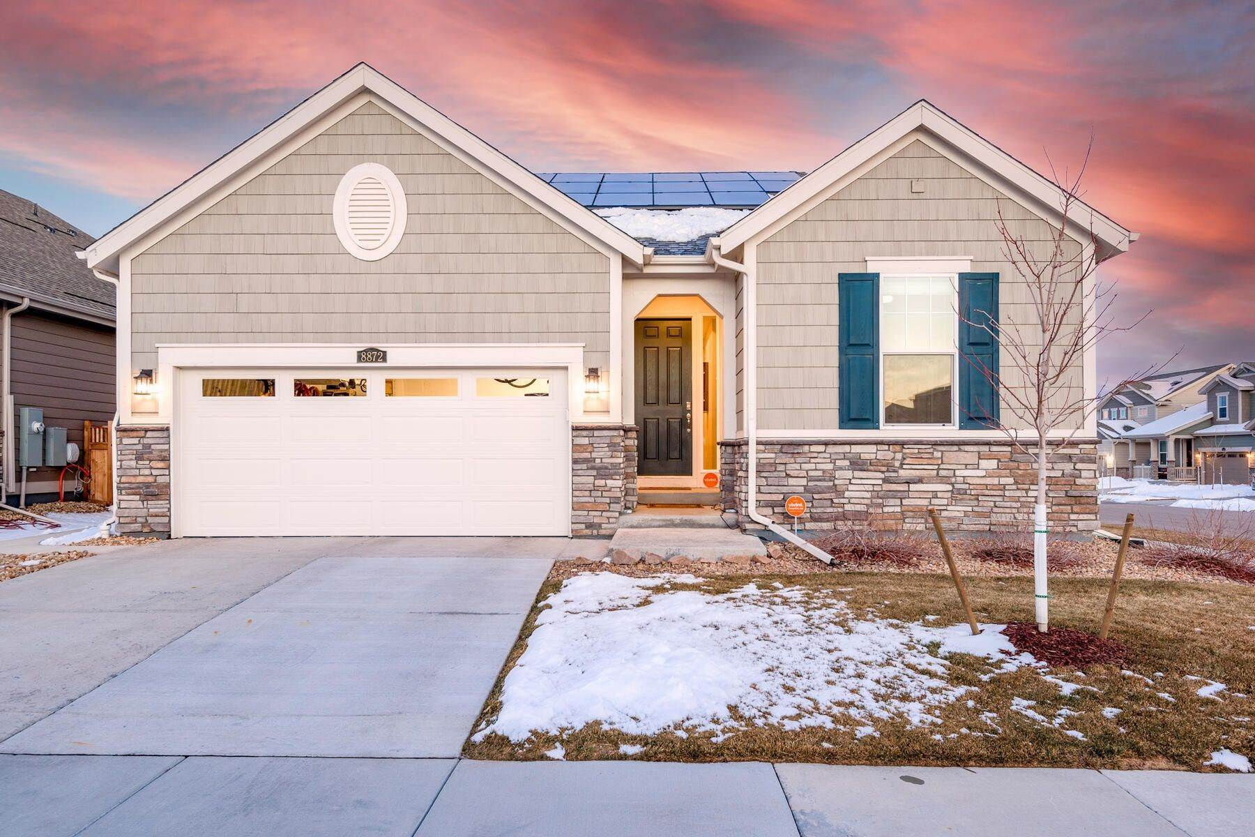 Single Family Homes for Sale at Spacious Ranch-esque Home with Easy Access to the Best of Parker 8872 Larch Trail Parker, Colorado 80134 United States