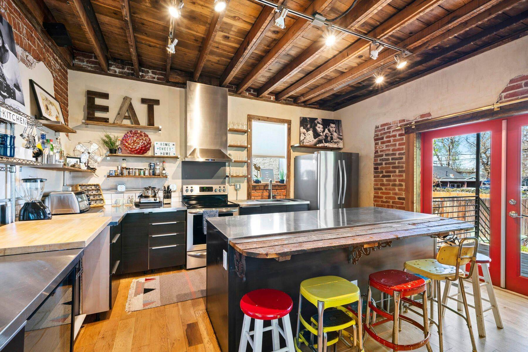 Single Family Homes for Sale at An Artistic Oasis! 3614 Kalamath Street Denver, Colorado 80211 United States
