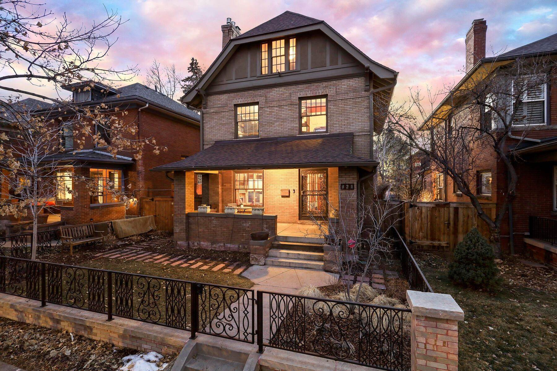 Single Family Homes for Sale at 821 N Marion Street, Denver, Co, 80218 821 N Marion Street Denver, Colorado 80218 United States